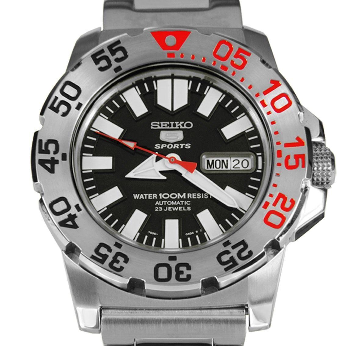 นาฬิกา Seiko Mini Monster Black snzf47k
