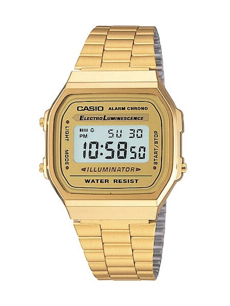 Casio Gold Digital Watch รุ่น A168WG-9