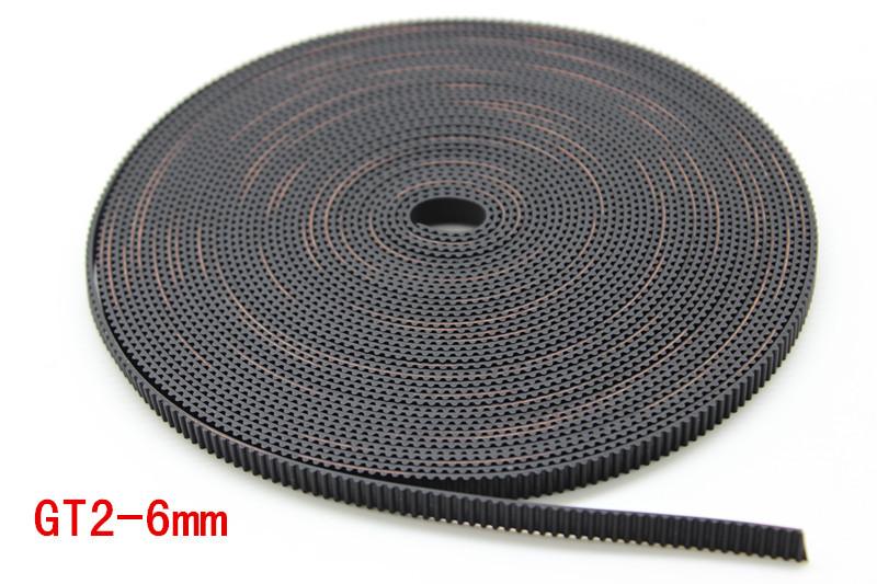 Belt GT2 6mm สำหรับเครื่องพิมพ์ 3 มิติ