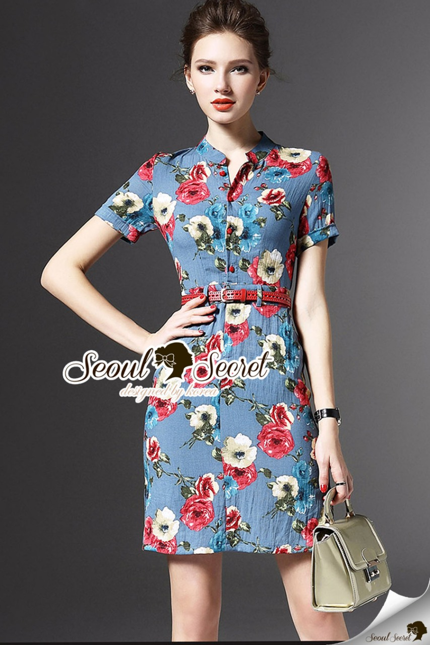 Seoul Secret Say's... Bloomy Nifty Dress