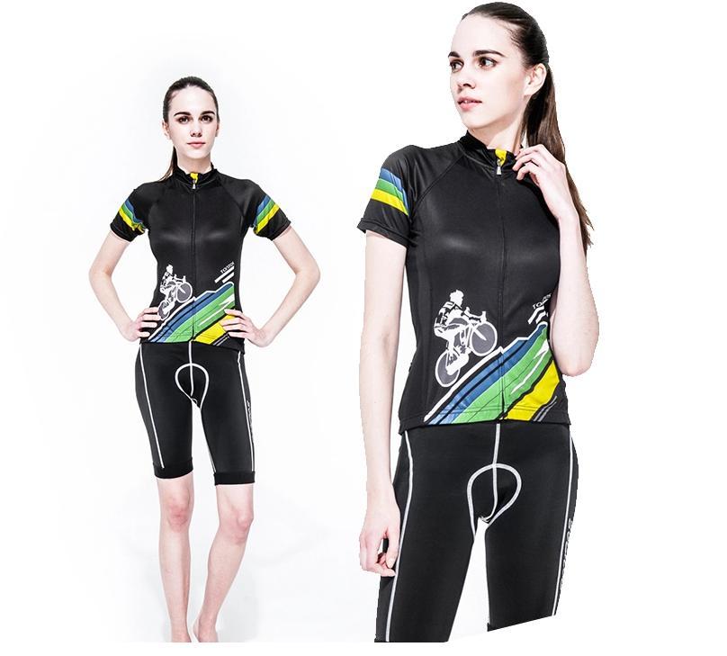 **สินค้าพรีออเดอร์**ชุดปั่นจักรยาน ผู้หญิง TONTOS New แนะนำคะ