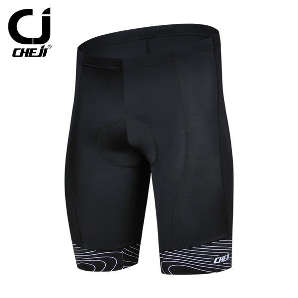 พร้อมส่ง >> กางเกงขี่จักรยาน ขาสั้น เป้าเจล มี 3 สี เขียว/ดำ/แดง