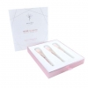 Pure Skin - Rose Quartz Makeup Brush Set ชุดแปรงโรสควอร์ส สลักชื่อได้ฟรี