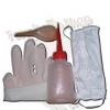 Acc01 - ชุดอุปกรณ์พื้นฐาน ; กระบอกฉีดผง100cc. & ถุงมือยางอย่างดี & หน้ากาอนามัย & ช้อนตวง