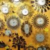 นาฬิกาติดผนังโมเดิร์น นาฬิกาแขวนผนังสวยๆ นาฬิกาแต่งบ้านสวยๆ By HappyTimeDecor