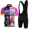 **สินค้าพรีออเดอร์** ชุดปั่นจักรยาน สวยๆ,ชุดปั่นจักรยาน onepiece เสื้อจักรยานแขนสั้น+กางเกงเอี้ยมปั่นจักรยาน
