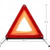 ป้ายสามเหลี่ยมสะท้อนแสงอย่างดี (กล่องแคบ)