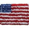 พรมเช็ดเท้า แฟนซี ลาย ธงอเมริกา