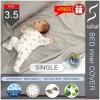 sabai cover ผ้าปูที่นอนชั้นใน กันน้ำ ระบายอากาศ ลดไรฝุ่น - [ SINGLE SIZE 3.5 ft. BED inner COVER]