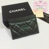 Chanel Card Holder สีเขียว งานHiend