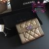 Chanel boy wallet สีน้ำตาล งานHiend Original