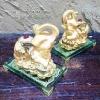 ของขวัญมงคล ช้างทองคู่ร่ำรวยเงินทอง