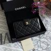 Chanel wallet สีดำ งานHiend Original งานเนี๊ยบสวยเป๊ะ หนังแท้ หนังLampหนังแกะนิ่ม งานดีสุด