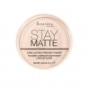 Rimmel Stay Matte Pressed Powder แป้งอัดแข็ง ริมเมล สเตย์แมท คุมมันยอดเยี่ยม