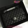 Chanel Classic Lamp Leather สีดำ งานTOP MIRRORเกาหลีระดับHiend Original