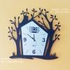 นาฬิกา Modern แขวนผนังตกแต่งห้องสวยๆ รุ่นบ้านต้นไม้