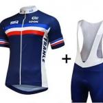 **สินค้าพรีออเดอร์**ชุดปั่นจักรยาน FRANCE New 2015 XXS-3XL