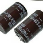 330UF450VDC105cเส้นผ่านศูนย์กลางอ้วน30สูง50มมยี้ห้อNIPON JAPANราคา(30x50mm)