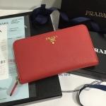 Prada Wallet งาน สีแดง Hiend