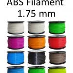 ABS Filament ขนาด 1.75 mm (1 kg / ม้วน)