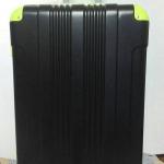 กระเป๋าเดินทางไฟเบอร์ ไซส์ 24 นิ้ว สีดำมุมเขียว