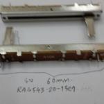 โวลุ่ม สไลด์รุ่นRA4543-20-15C1ยาว60กว้าง8.5สูง7mmVOLUME SLIDE