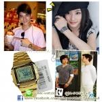 Casio Databank Gold Tone รุ่น DB-360G-9ADF