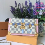 LOUIS VUITTON POCHETTE WEEKEND DAMIER LIMITED 2018 งานHiend 1:1