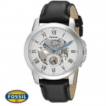 นาฬิกา FOSSIL ME3053 Men Watch Automatic Movement Leather Strap 44 mm