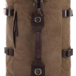 TR01-Brown กระเป๋าเป้เดินทาง ผู้ชาย สีน้ำตาล