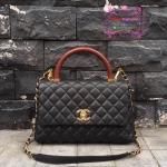 Chanel coco Handle Bag สีดำ งานHiend Original