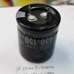 C150UF450VDC105cเส้นผ่านศูนย์กลางอ้วน25MMสูง30MM(25x30mm)