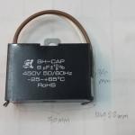 C6UF450VACราคาCเหลี่ยมดำยีห้อSKมีสายไฟขนาดกว้าง50mmสูง34มมหนา22มม(50x34x22mm)ยี่ห้อSEIKAของไต้หวัน