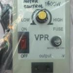 เครื่องควบคุมความเร็วมอเตอร์ไฟ220VAC1600Wทั่วไป