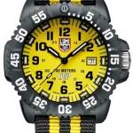 Luminox รุ่น LUMINOX 3955.set Scott Cassell Yellow Dial Carbon Reinforced Case Mens Watch