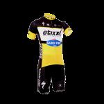 พร้อมส่ง >> ชุดปั่นจักรยาน New 2016 รุ่นใหม่ล่าสุด Quick Step ชุดโปรทีมจักรยาน (เหลือง)