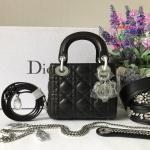 Dior lady mini สีดำ งานHiend Original