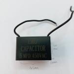 C5UF450VACคอนเดนเซอร์คาปาซิสเตอร์เหลี่ยมสีดำยี้ห้LMGราคาตัวล่ะ กว้าง45มมสูง30มมหนา20มม.(45x30x20MM)