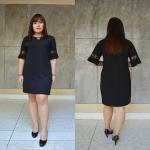 ชุดดำพร้อมส่ง สำหรับสาวอวบ++36-43 นิ้ว T5104 Sale