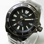 SEIKO SAMURAI BLACK (SRPB51J1) The way to Warriors