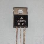 BCR8DM-8LไตรแอคควบคุมไฟACTRAICตัวถังTO-220หลังสีดำBCR8DM8Lราคา