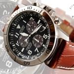 นาฬิกา CITIZEN Eco - Drive Calendar Chronograph Titanium สายหนัง Citizen BL5251-00L BL5250-02L
