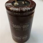 1000UF450VDC105cเส้นผ่านศูนย์กลาง35สูง62mm