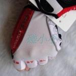 สินค้าพร้อมส่ง**ถุงมือ Castelli สีขาวแดง (ใส่ขี่จักรยาน)