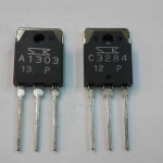 2SA1303+2SC3284ขายเป็นคู่ตัวถังTO-247ยี้ห้อSANKENทรานซิสเตอร์ขยายเสียงราคาคู่ล่ะ
