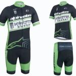 **สินค้าพรีออเดอร์**ชุดจักรยาน Monster 2015 (เสื้อปั่นจักรยาน+กางเกงปั่นจักรยาน)