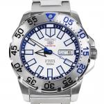 นาฬิกา หน้าขาว Seiko Mini Monster Snow srp481k