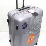 กระเป๋าคันชักคู่ Hipolo 1174 สีเทา 4 ล้อลาก 28 นิ้ว
