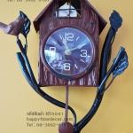 นาฬิกาบ้านนก สไตล์วินเทจ ตั้งโต๊ะตกแต่งบ้านสวยๆเก๋ๆ