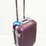 กระเป๋าเดินทาง ขอบอลูมิเนียม สีม่วง C02